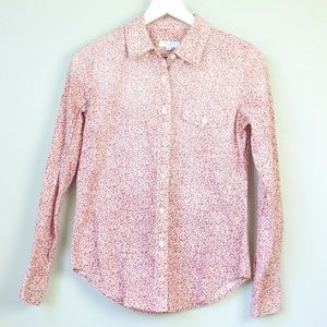 Equipment Femme Ombre Floral Button Down Blouse